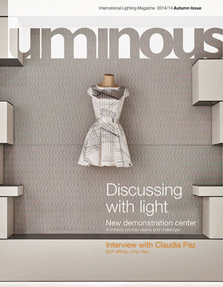 couverture Luminous 14