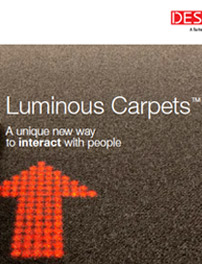 Brochure Luminous Carpets (en anglais)