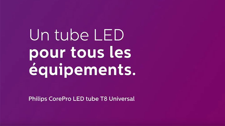 Hassle-free LED replacement for T5 flourescents