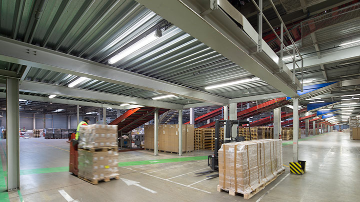 Centre logistique VSG - Philips Lighting